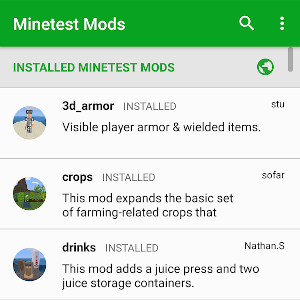 Minetest Mods for Android